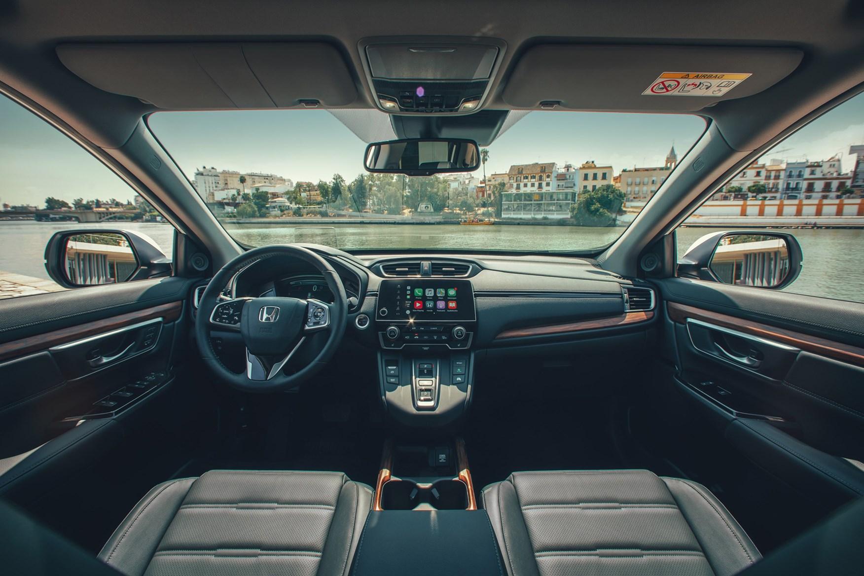 2019 Honda CR-V SUV Hybrid left-hand drive dashboard