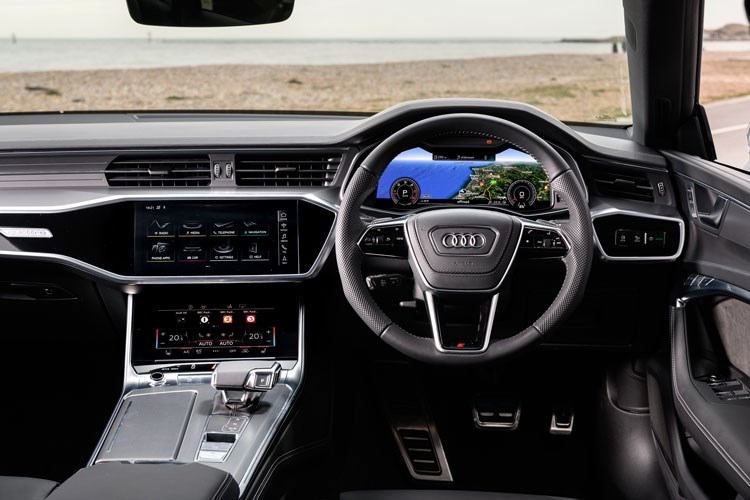 2019 Audi A7 Sportback dashboard