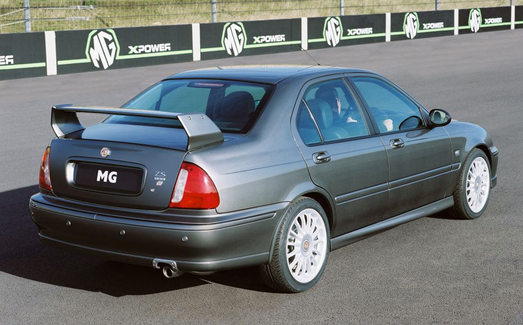 Mg Zs Saloon 2001 2004 Photos Parkers