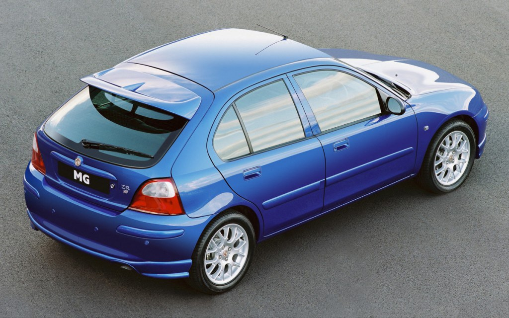mg zr hatchback review 2001   2005 parkers