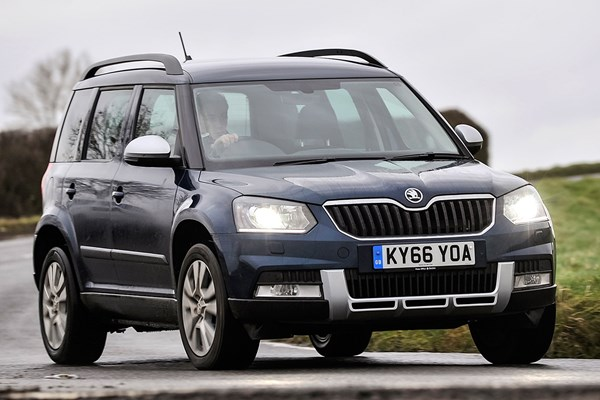 Skoda Yeti (09-17) - rated 4.4 out of 5
