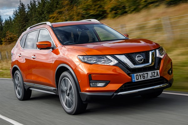 nissan x trail 4x4 from 2014 used prices parkers. Black Bedroom Furniture Sets. Home Design Ideas