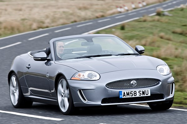 jaguar xk convertible from 2006 used prices parkers. Black Bedroom Furniture Sets. Home Design Ideas