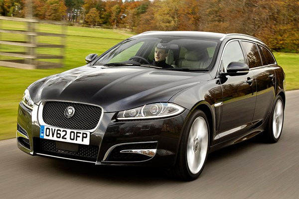 jaguar xf sportbrake from 2012 used prices parkers. Black Bedroom Furniture Sets. Home Design Ideas