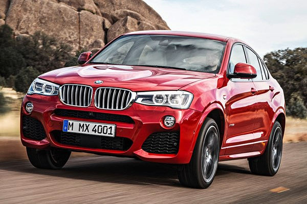 BMW X4 (14-18) - rated 3.5 out of 5
