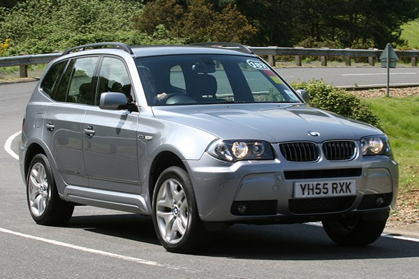 bmw x3 estate from 2004 used prices parkers. Black Bedroom Furniture Sets. Home Design Ideas