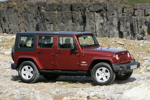 jeep wrangler hardtop from 2007 used prices parkers. Black Bedroom Furniture Sets. Home Design Ideas