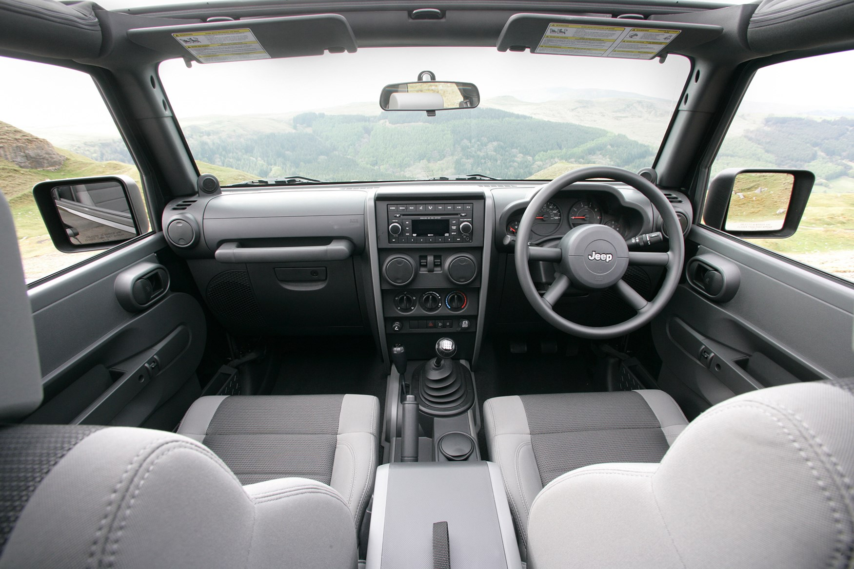 Jeep Wrangler Hardtop Review 2007