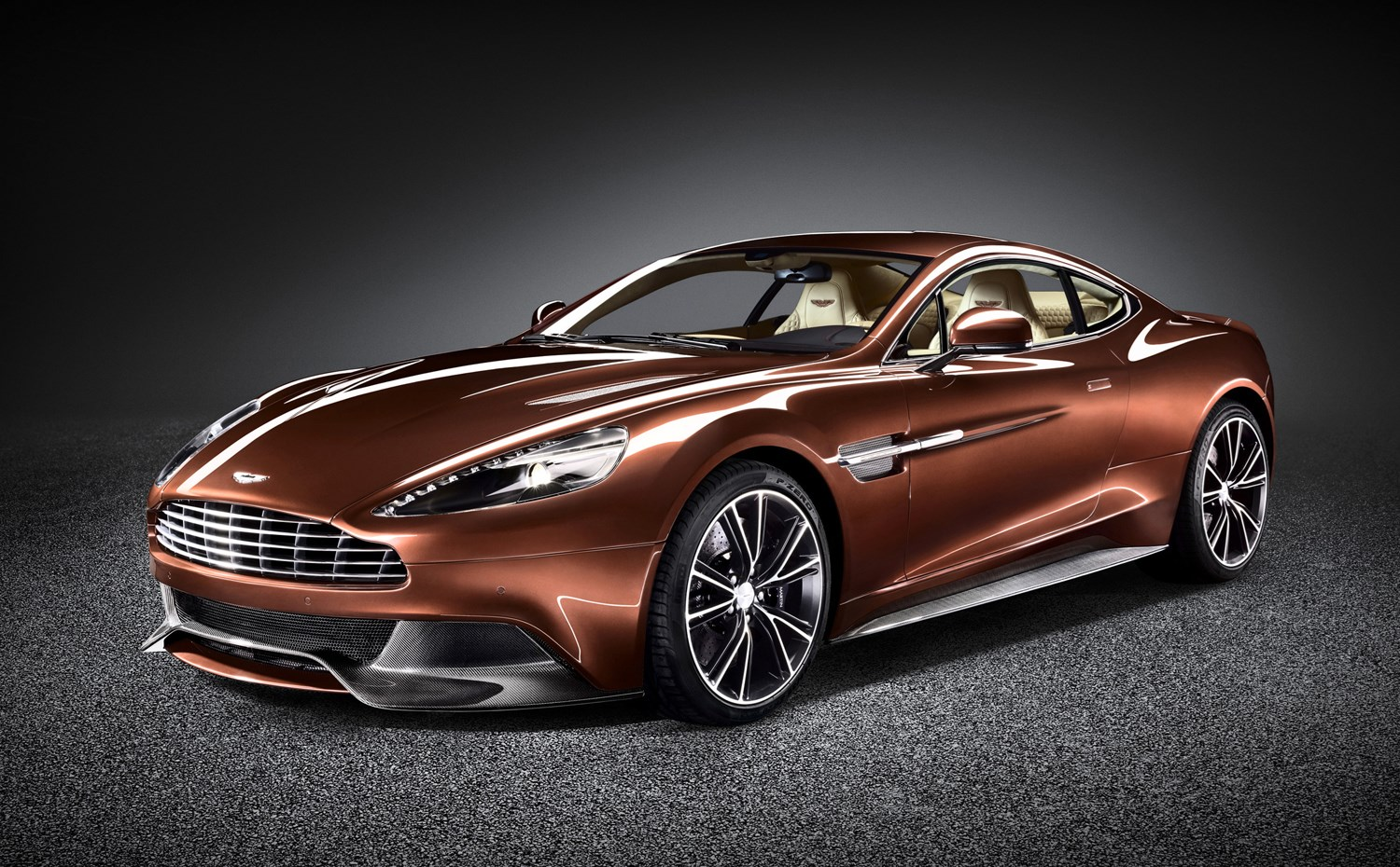 Aston Martin Vanquish Coupe Photos Parkers - How much is a aston martin