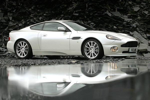 Aston Martin Vanquish Coupe Review Parkers - 2006 aston martin vanquish price