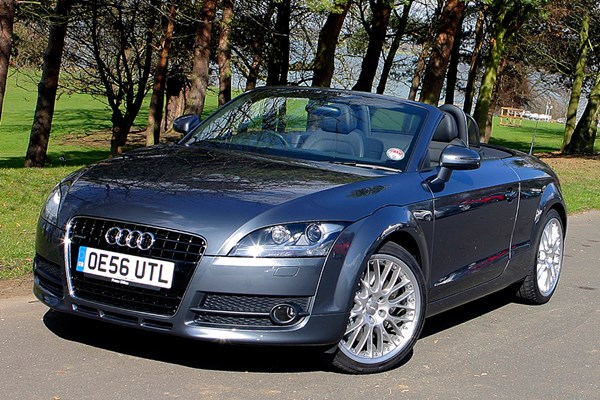 Audi tt 32 v6 roadster review