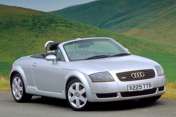 audi tt roadster from 1999 used prices parkers. Black Bedroom Furniture Sets. Home Design Ideas