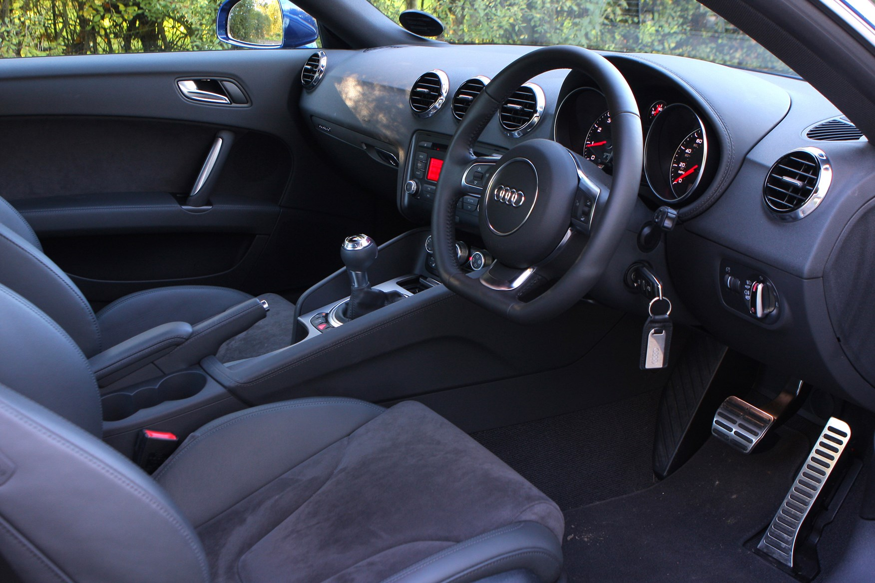 2007 audi tt interior for Audi tt interieur