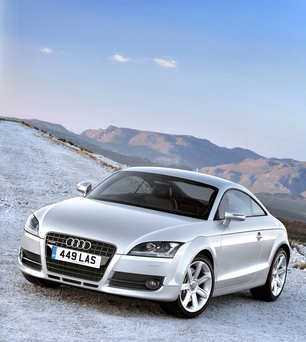 Audi TT Coupé (2006 - 2014) Photos