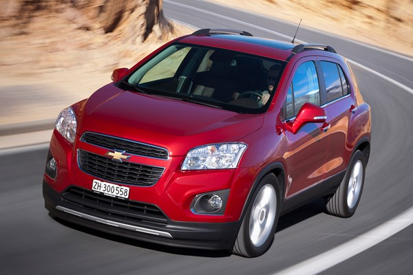Chevrolet Trax (13-15) - rated 3 out of 5
