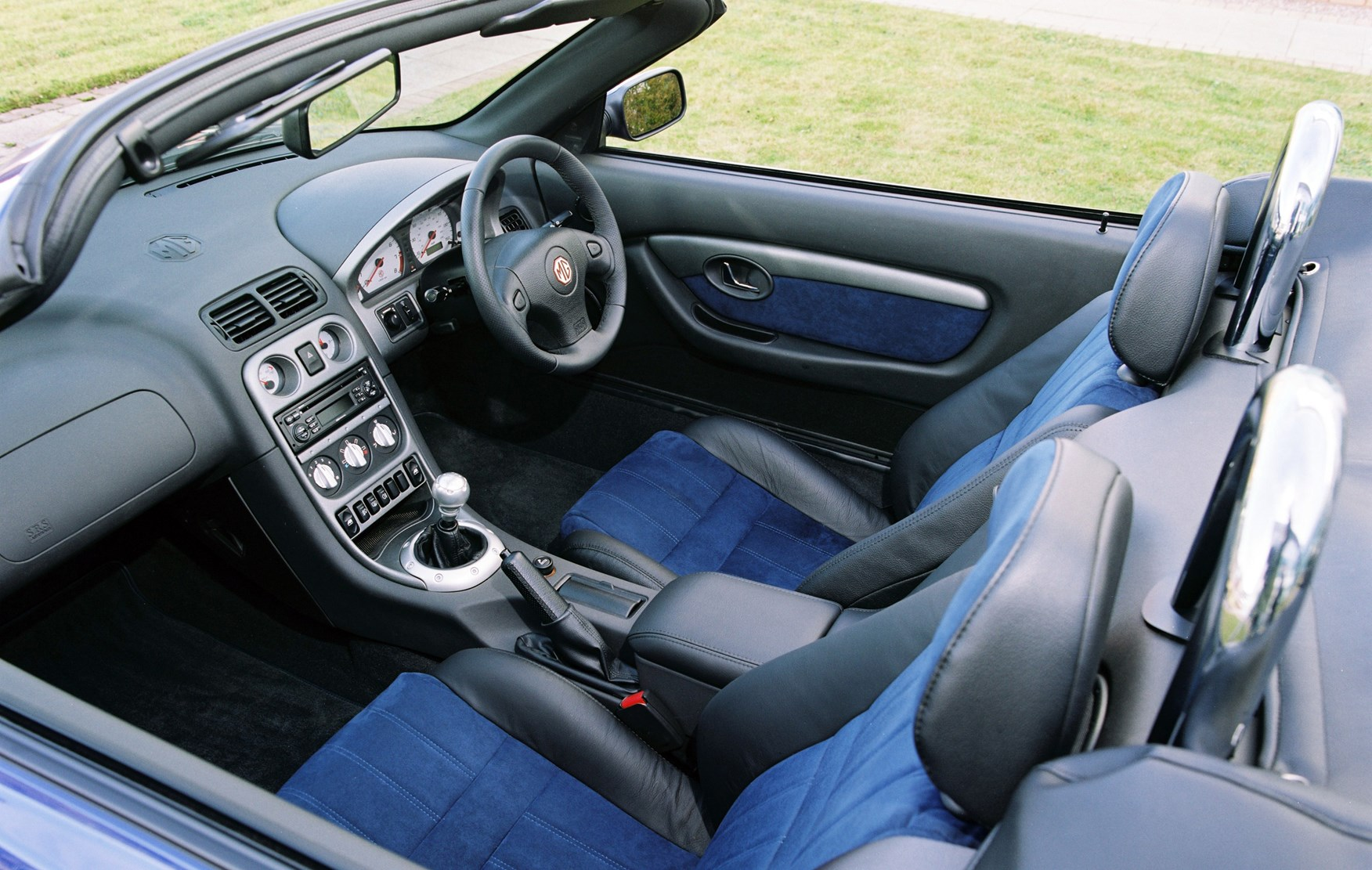 Mg tf convertible review 2002 2005 parkers view all images of the mg tf 02 05 vanachro Gallery