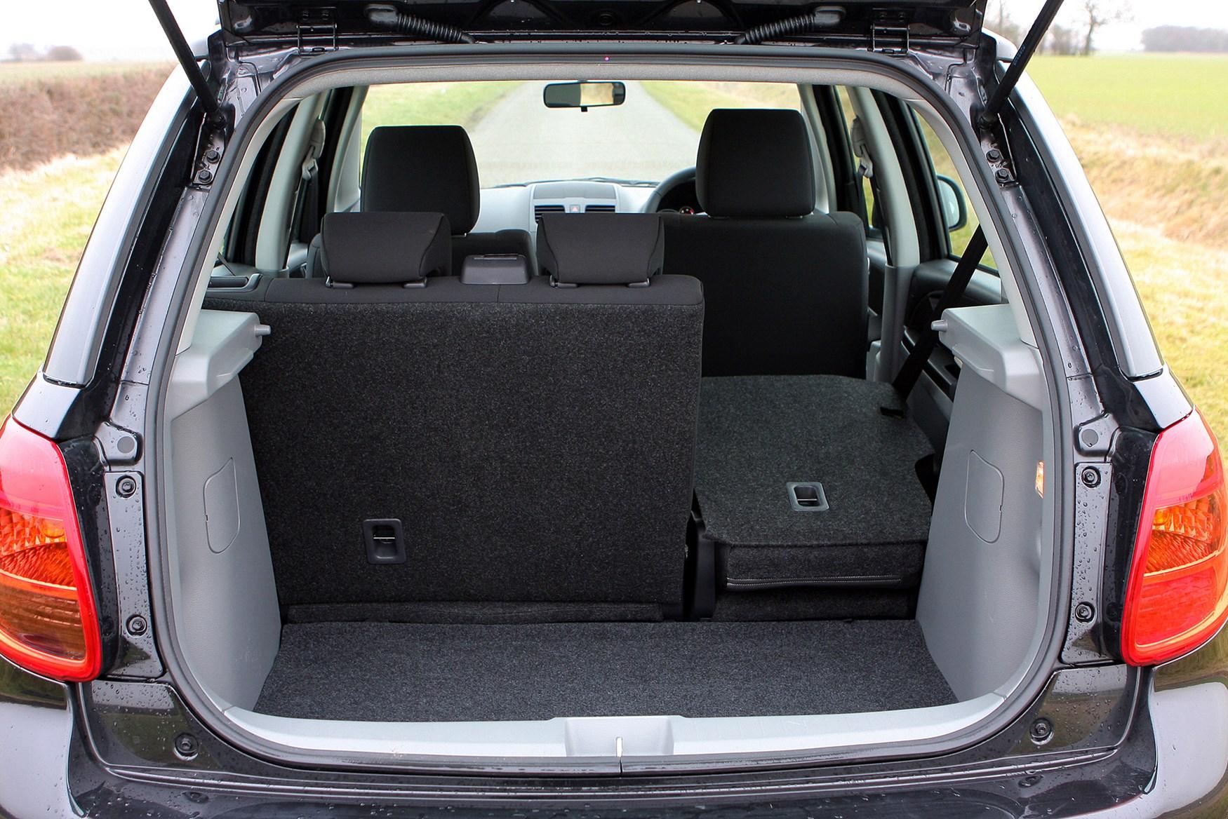 Suzuki Sx Sedan Boot Space