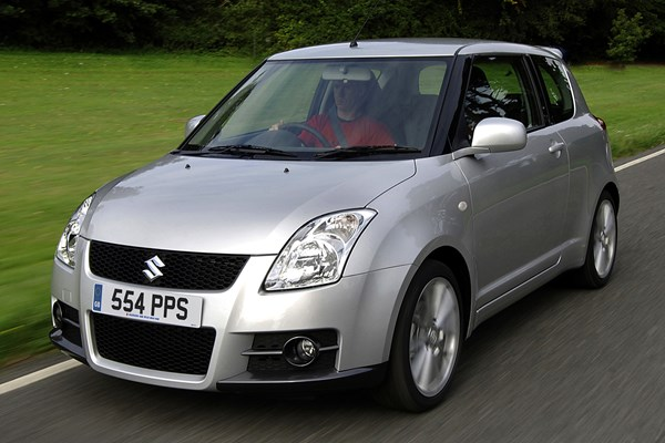 suzuki swift sport from 2006 used prices parkers. Black Bedroom Furniture Sets. Home Design Ideas