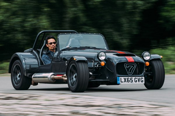 caterham super seven roadster review 2001 parkers. Black Bedroom Furniture Sets. Home Design Ideas