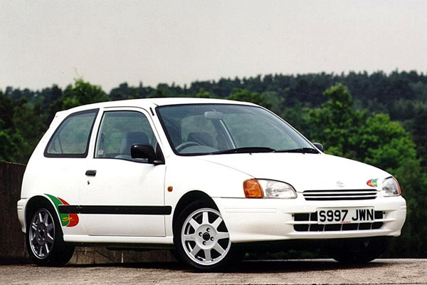 Toyota Starlet (1996 - 1999) Used Prices