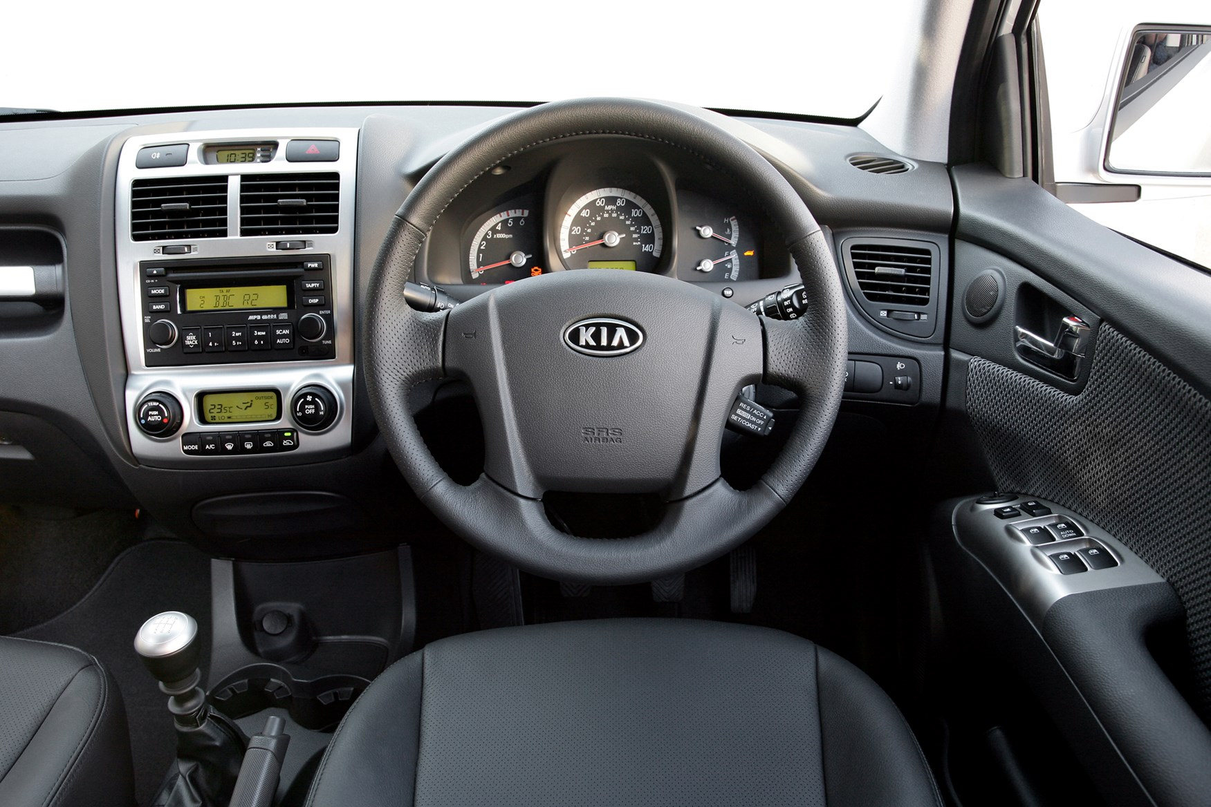 kia sportage estate 2005 2010 driving performance. Black Bedroom Furniture Sets. Home Design Ideas