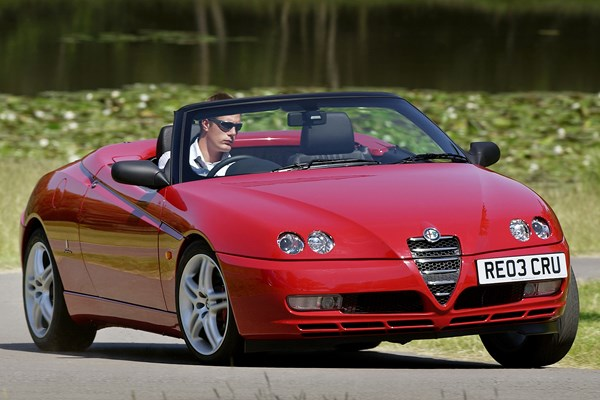 alfa romeo spider convertible from 1996 used prices parkers. Black Bedroom Furniture Sets. Home Design Ideas