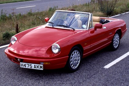 alfa romeo spider specs, dimensions, facts & figures   parkers