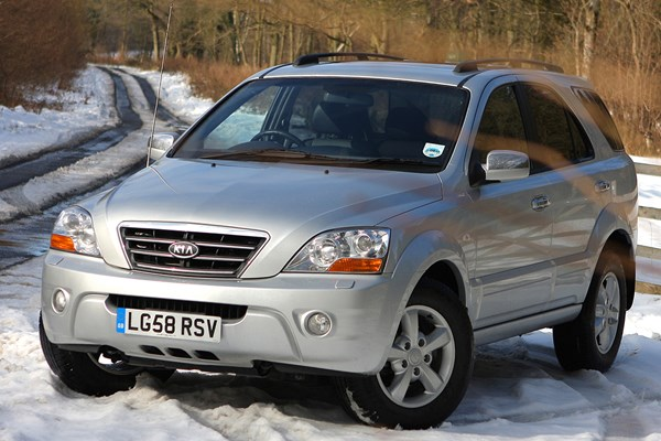 Attractive Kia Sorento (03 09)   Rated 3 Out Of 5