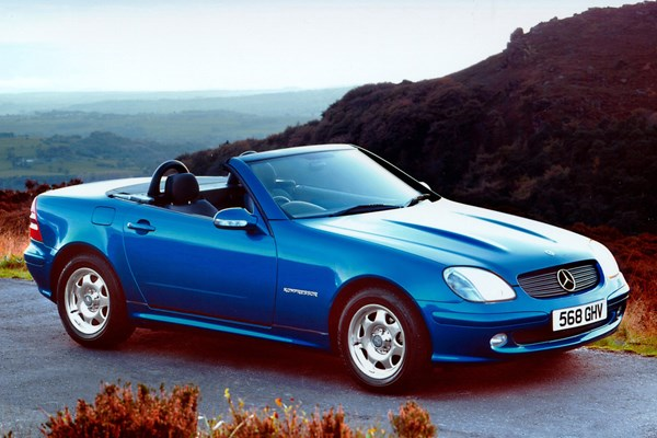 mercedes benz slk roadster from 1996 used prices parkers. Black Bedroom Furniture Sets. Home Design Ideas