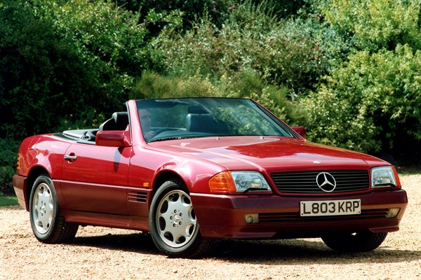 Mercedes-Benz SL-Class (1989 - 2002) Used Prices