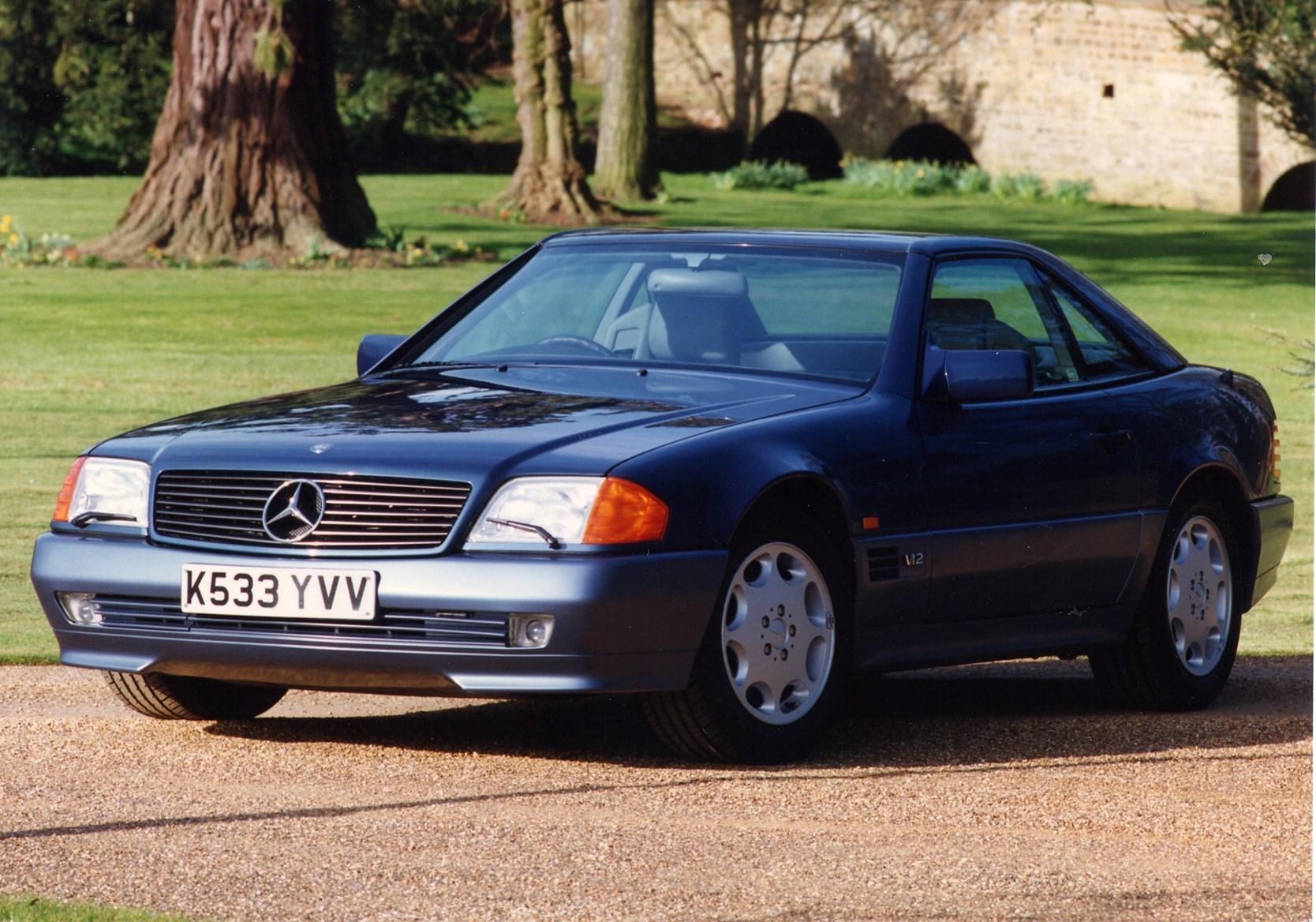 Mercedes benz sl class convertible 1989 2002 photos for 90s mercedes benz