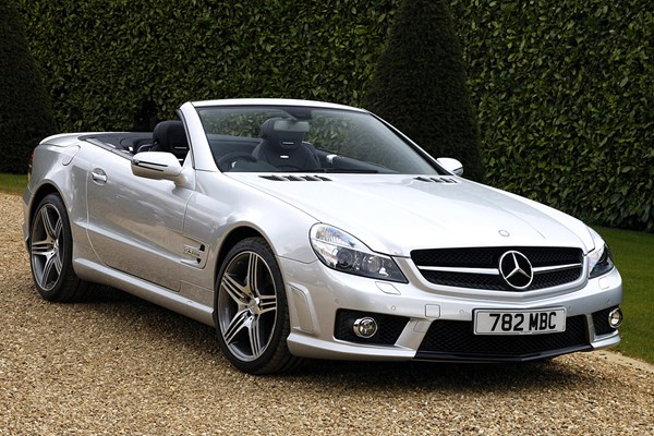 Mercedes benz sl class amg from 2002 used prices parkers for Mercedes benz sl price