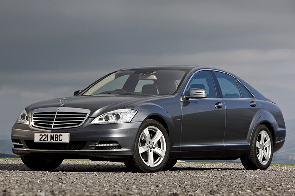 Mercedes benz s class saloon from 2006 used prices parkers for 2006 mercedes benz s350 review