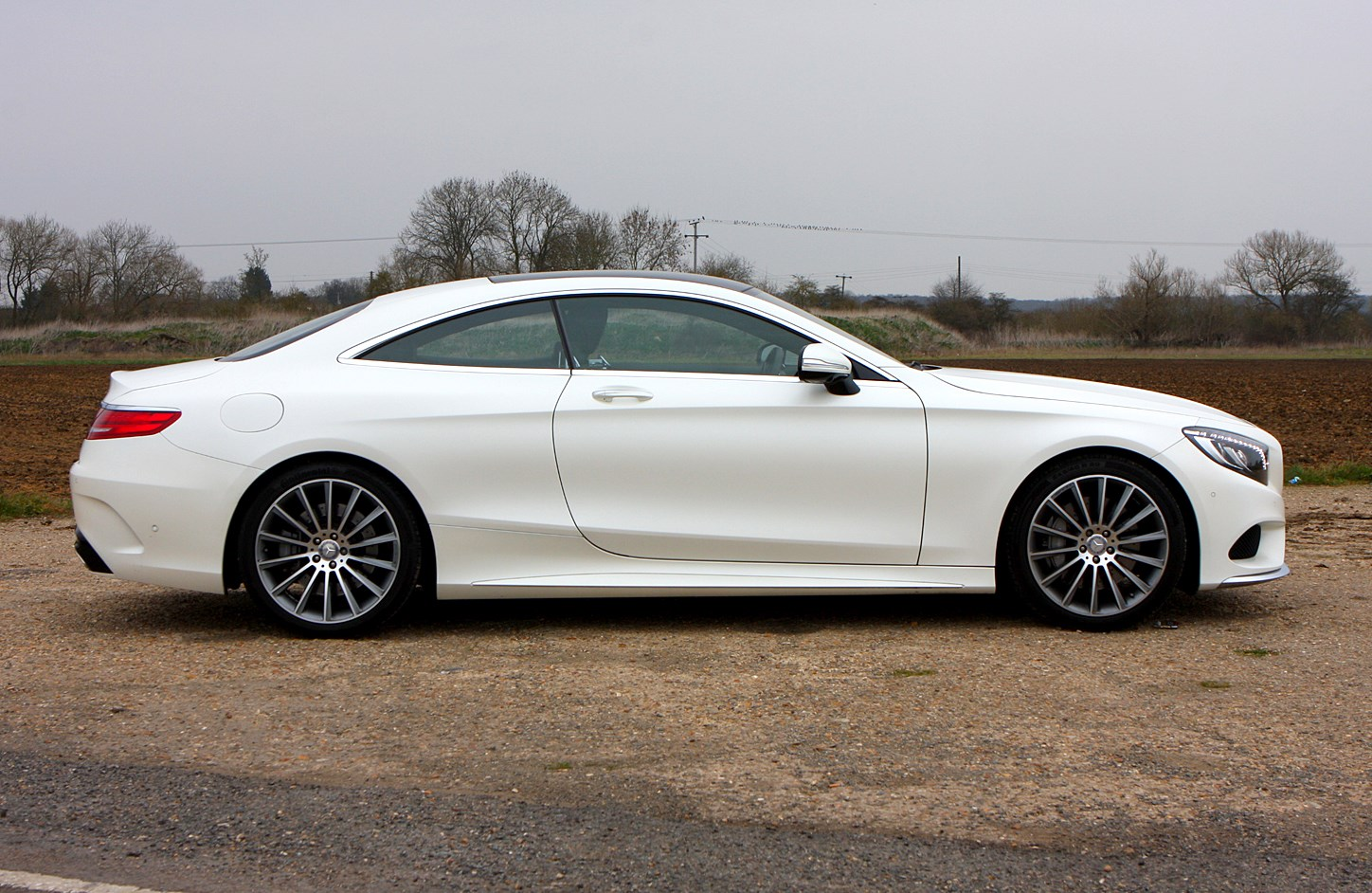 Mercedes benz s class coupe 2014 photos parkers for Mercedes benz s class coupe