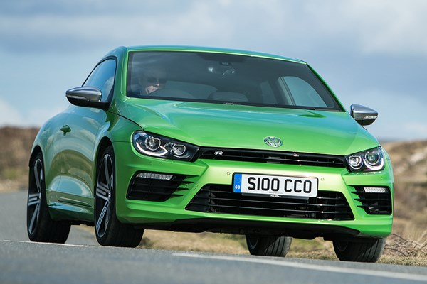 volkswagen scirocco r from 2010 used prices parkers. Black Bedroom Furniture Sets. Home Design Ideas