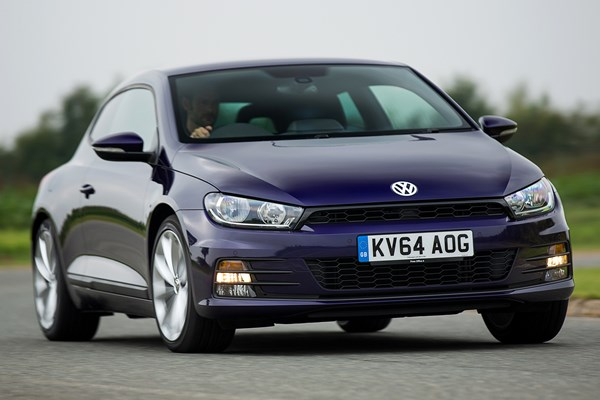 volkswagen scirocco coupe from 2008 used prices parkers. Black Bedroom Furniture Sets. Home Design Ideas