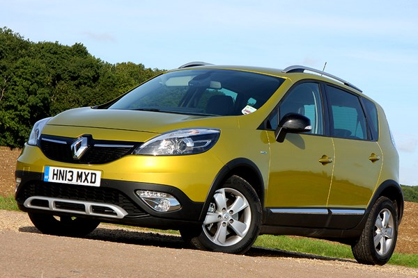 renault scenic xmod from 2013 used prices parkers. Black Bedroom Furniture Sets. Home Design Ideas