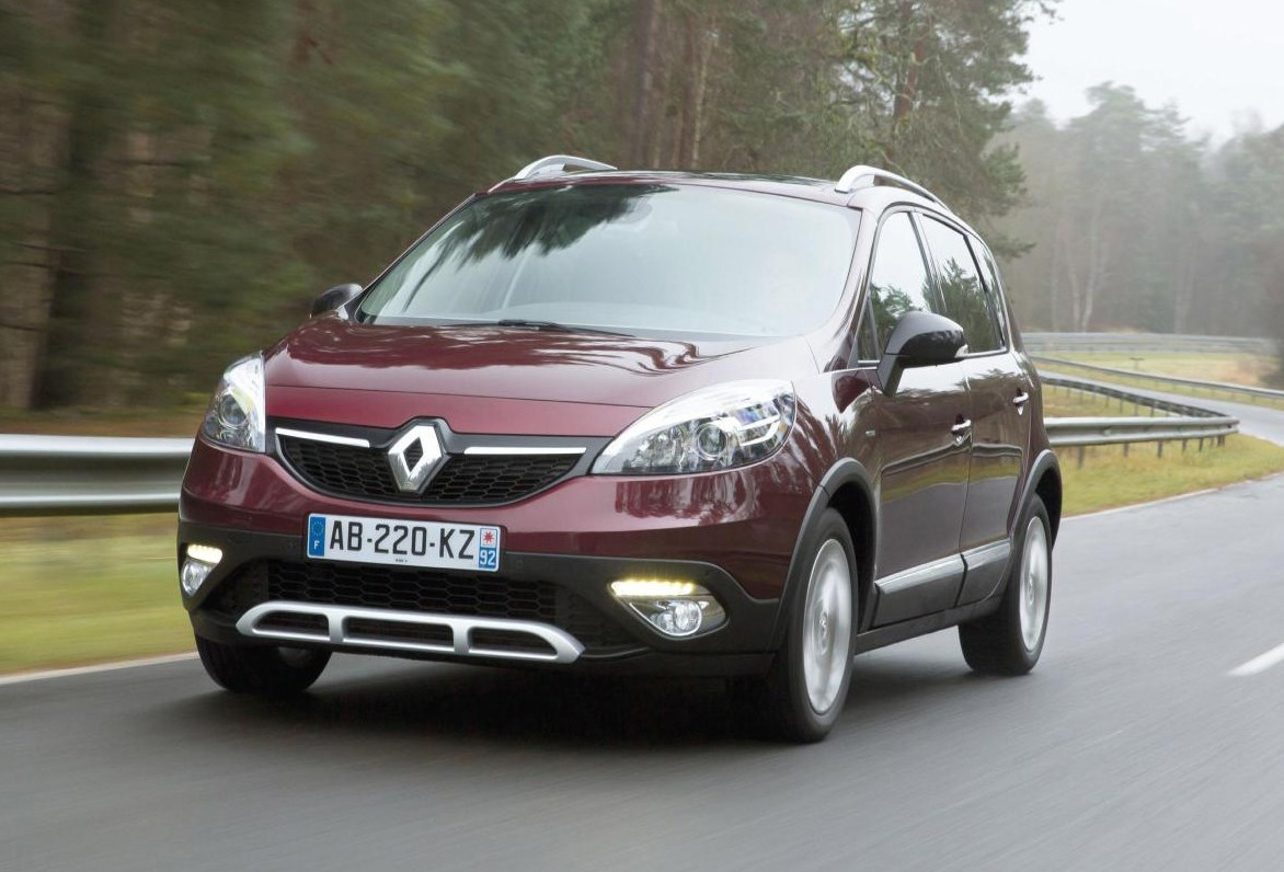 renault scenic xmod 2013 2015 driving performance parkers. Black Bedroom Furniture Sets. Home Design Ideas