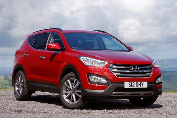 Hyundai Santa Fe (12-18) - rated 3.5 out of 5