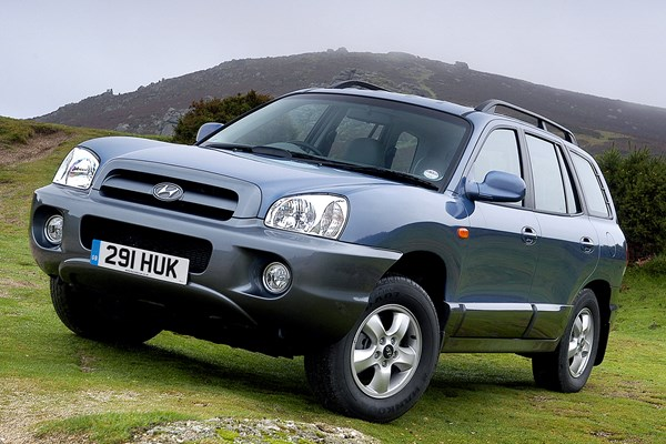 Hyundai Santa Fe (01 05)   Rated 3.5 Out Of 5