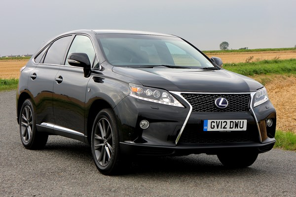 lexus rx estate from 2009 used prices parkers. Black Bedroom Furniture Sets. Home Design Ideas