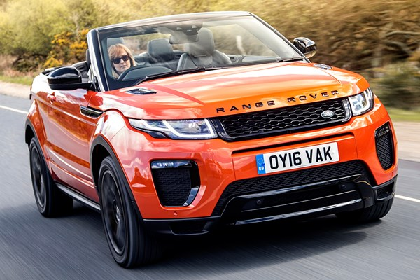 land rover range rover evoque convertible from 2016 used. Black Bedroom Furniture Sets. Home Design Ideas