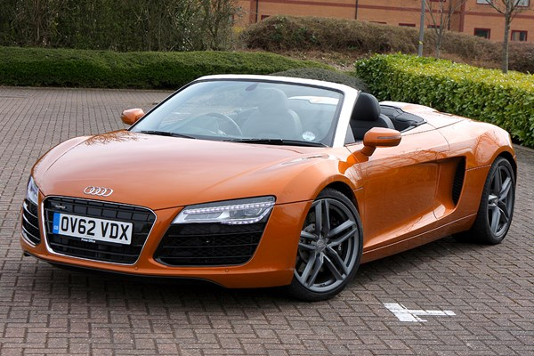 Audi R8 Spyder (2010 - 2014) Used Prices