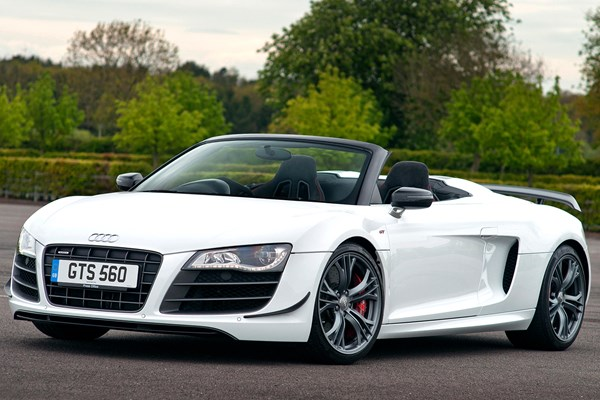 audi r8 gt spyder from 2012 used prices parkers. Black Bedroom Furniture Sets. Home Design Ideas