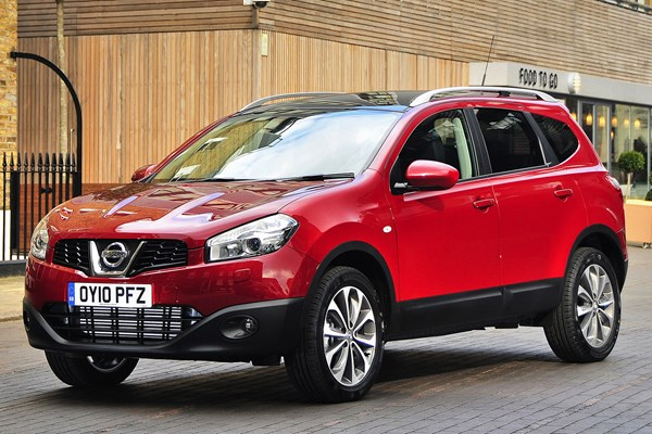 nissan qashqai 2 estate from 2008 used prices parkers. Black Bedroom Furniture Sets. Home Design Ideas