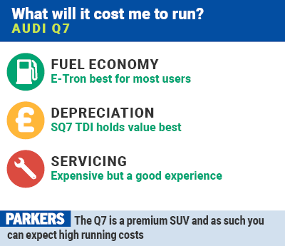 Audi Q Review Running Costs Parkers - Audi q7 maintenance cost