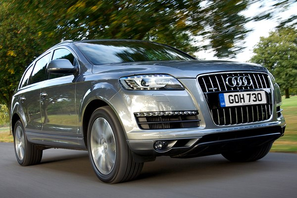 audi q7 suv from 2006 used prices parkers. Black Bedroom Furniture Sets. Home Design Ideas