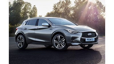 Infiniti Q30 Hatchback Luxe (City Black) 1.6t 5d