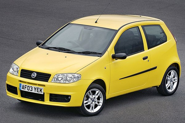 fiat punto hatchback from 2003 used prices parkers. Black Bedroom Furniture Sets. Home Design Ideas