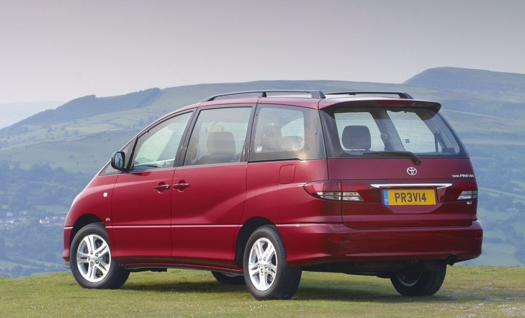 Used Toyota For Sale >> Toyota Previa Estate (2000 - 2005) Photos | Parkers